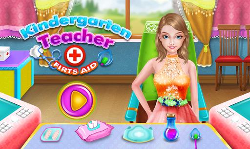 幼儿园的老师女孩游戏