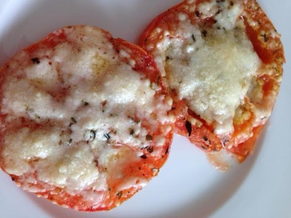 Easy Baked Parmesan Tomatoes Recipe