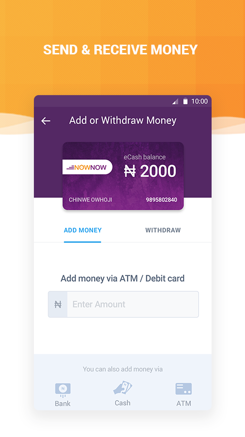 Recharge, Bill Payment, Wallet- screenshot