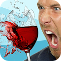 Broken glass by scream Prank icon