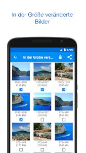 Fotos und Bilder Verkleinern Screenshot