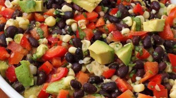 Summer Fresh Black Bean Corn Salad Recipe