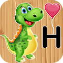 Kids Educational Puzzles: Animals, Letters, Number icon