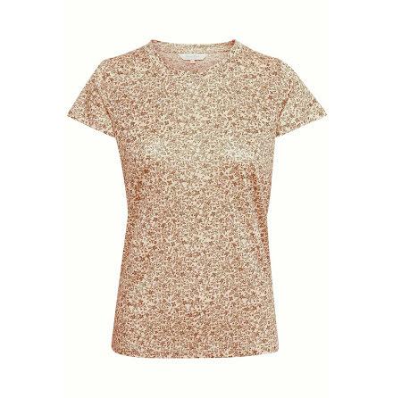 Part Two Kassim t-shirt flower print butternut brown