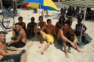 Photo: hanging out at the beach. cuba. Tracey Eaton photo