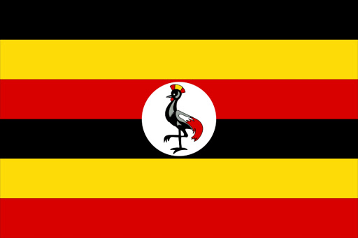 Flag of Uganda. File photo.