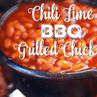 Chili Lime BBQ Grilled Chicken