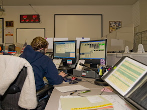Photo: South Central Idaho Interagency Dispatch Center, SCIIDC, Shoshone, Idaho, August, 2010, Dispatcher