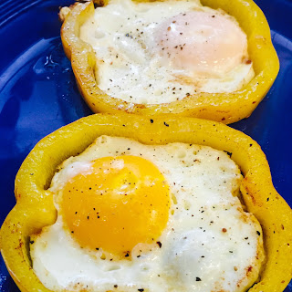 Low Carb Eggs In A Nest