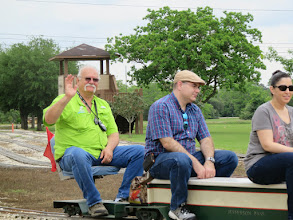 Photo: Conductor Greg Moore    HALS Public Run Day 2015-0418 RPW