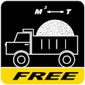 Calculator bulk materials icon