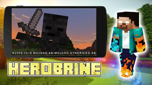 Mod Herobrine Craft [Horror] filehippodl screenshot 1
