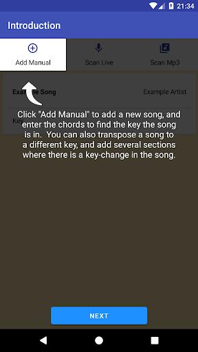 Song Key Finder 1.6.230 screenshots 1