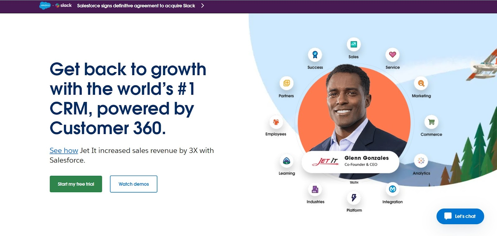 Salesforce tool for sales team