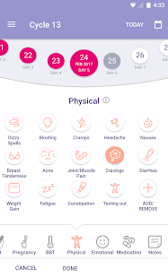 FEMM Health Period and Ovulation Tracker- screenshot thumbnail