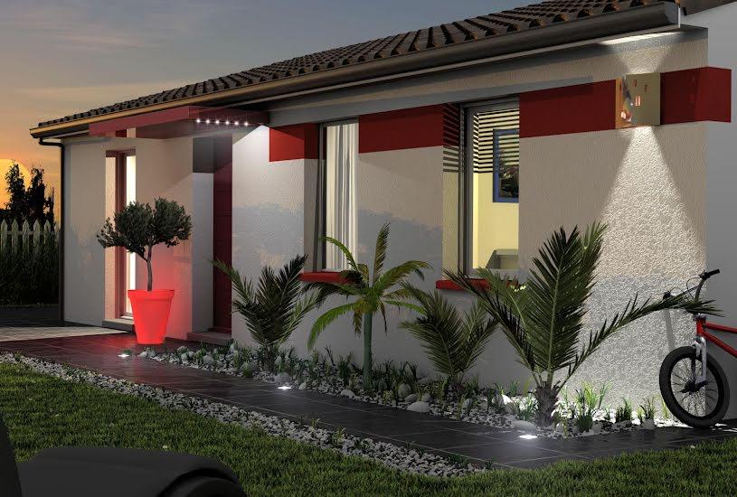 Vente Terrain + Maison - Terrain : 900m² - Maison : 80m² à Parentis-en-Born (40160)