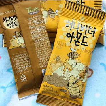 超級好味,店主推薦👍🏻👍🏻👍🏻 蜂蜜油黃杏仁35g 💰8 #蜂蜜油黃杏仁#杏仁#零食