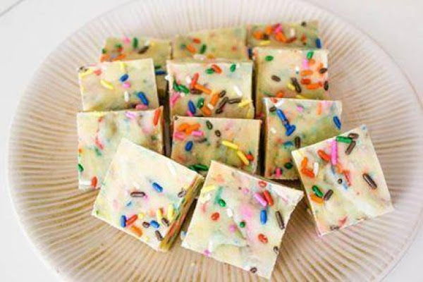 Cake Batter Fudge Recipe