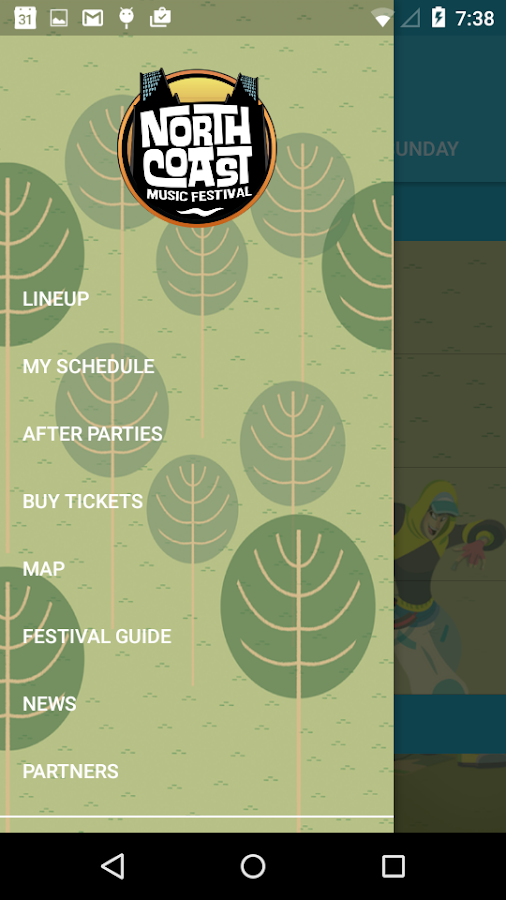 North Coast Music Festival- screenshot