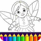 Girls Coloring Game