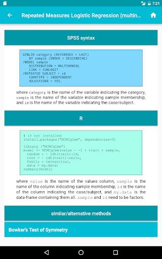statistics helper pro screenshot 9