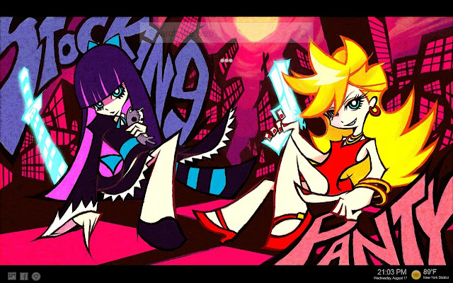 Panty and Stocking with Garterbelt Tab