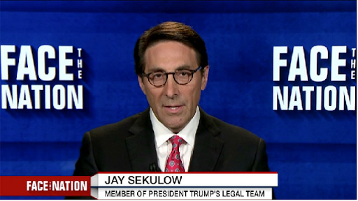 Trump attorney rails against Democrats' contacts with foreign government