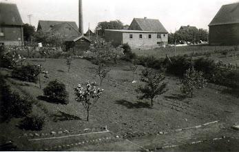 Photo: Brugsens have - Her kom Karl Henri - senere hans far og sidst Poul Engholm til at bo