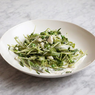Spring Asparagus Salad with Feta.