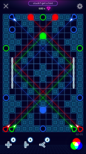 Laser Dreams - Brain Puzzle screenshot 3