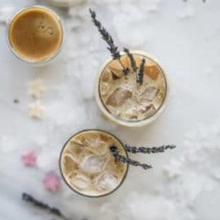 Iced Lavender Vanilla Lattes.