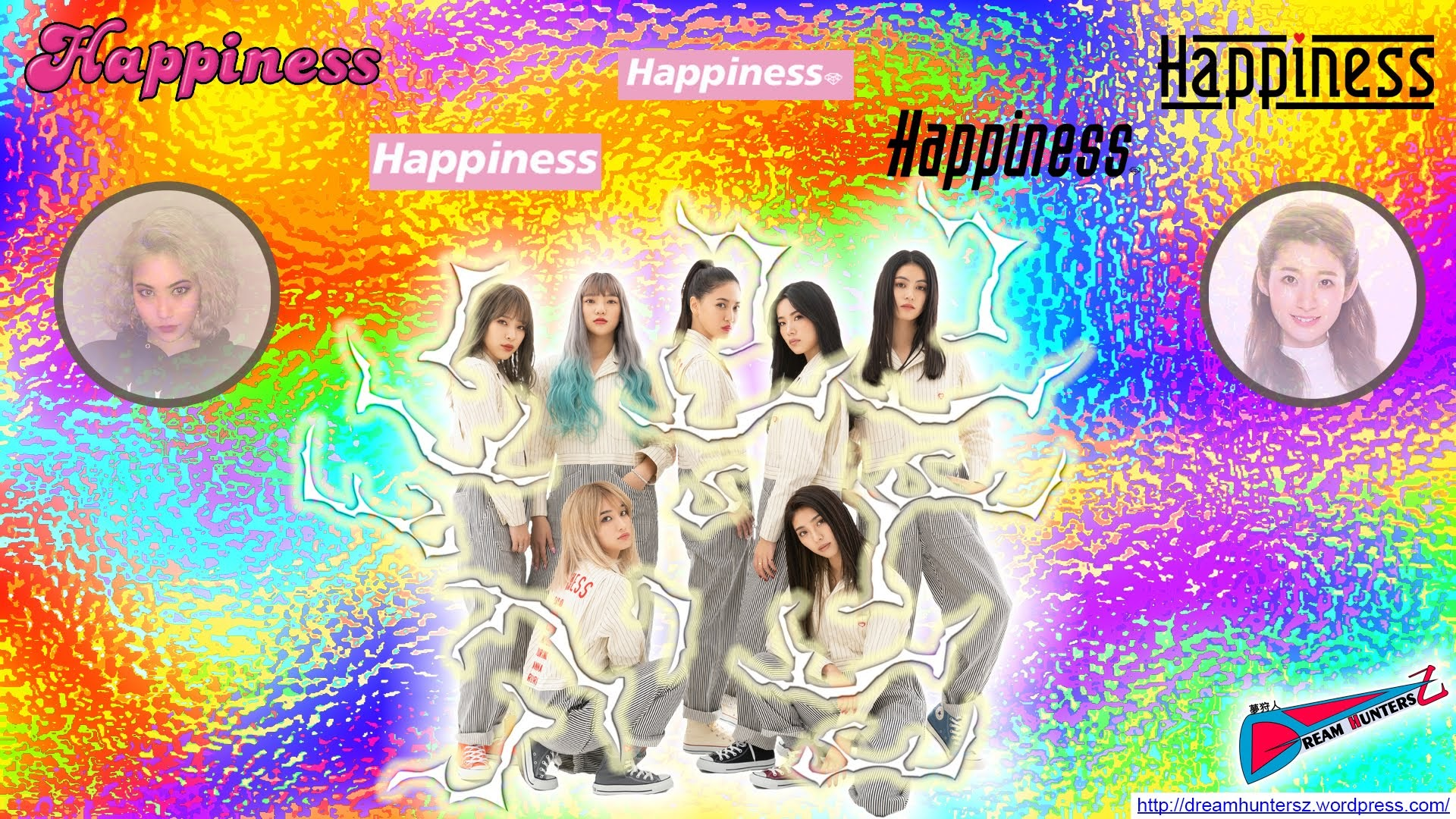 Happiness - Montagem feita por mim.