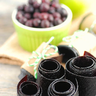 Wild Blueberry Fruit Leather
