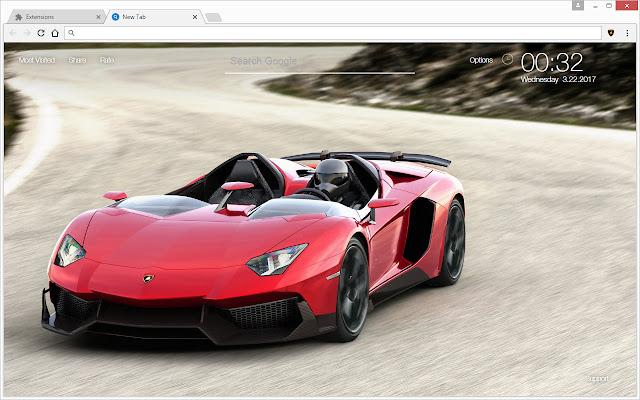 Lamborghini Vs Ferrari Sports Cars Hd New Tab