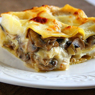 Mushroom Lasagna with BéChamel Sauce Recipe