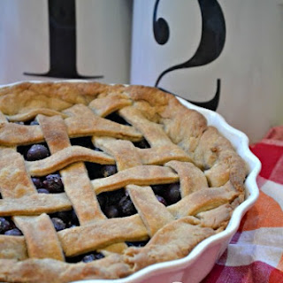 Easy Homemade Blueberry Pie