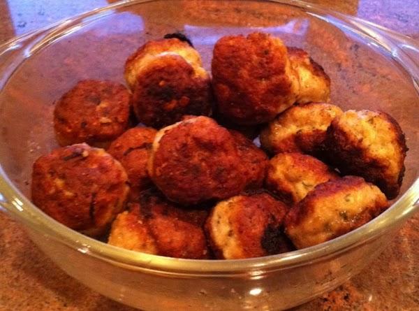 Fried Chicken Meatballs Recipe