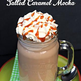 Cheat's Iced Salted Caramel Mocha