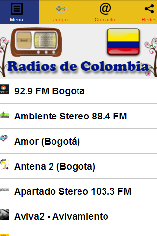 Radios de Colombia
