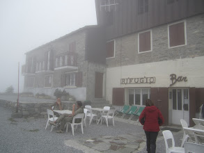 Photo: On top of Plato Nevosa at 1980 meters, we found a bar/restaurant