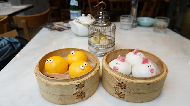 cute and unique dim sum at Yum Cha in Hong Kong in Hong Kong, , Hong Kong SAR