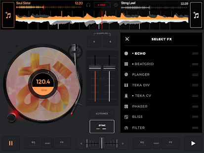 edjing Mix: DJ music mixer- screenshot thumbnail