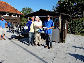 Photo: 2e plaats: Bert Visser en Ton van Groenigen