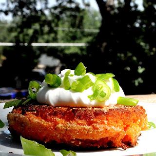 Paleo Sweet Potato Fritters.