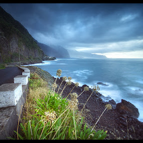 A Storm in Paradise by José Ramos - Landscapes Travel ( nature, waterscape, long exposure, landscape, madeira, island, nd filter )