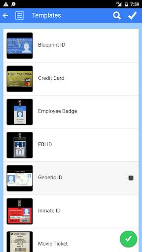 Fake ID Generator 3.5.1 screenshots 1