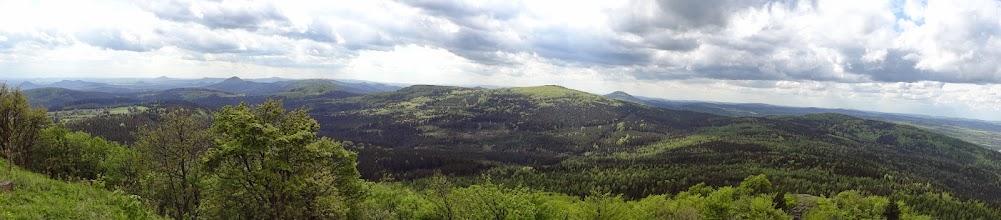 Photo: Panorama z Luže.