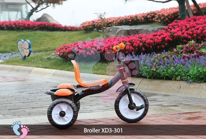 Xe đạp ba bánh trẻ em Broller XD3-301 5