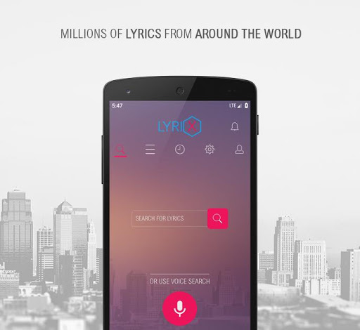 Lyrix - Save Music Lyrics Offline 3.4.2 screenshots 1