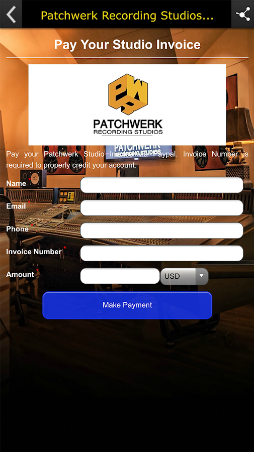 Patchwerk Recording Studios- screenshot